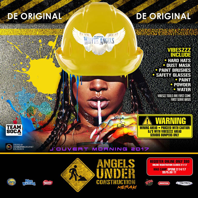 "Whyte Angel 2K17""Angels Under Construction"""
