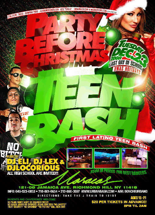 Teen Bash 'Party Before Christmas' :: TriniJungleJuice - Trini ...