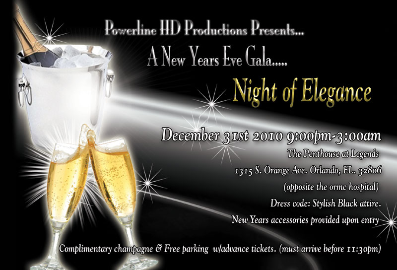 Night of Elegance- A New Years Eve Gala