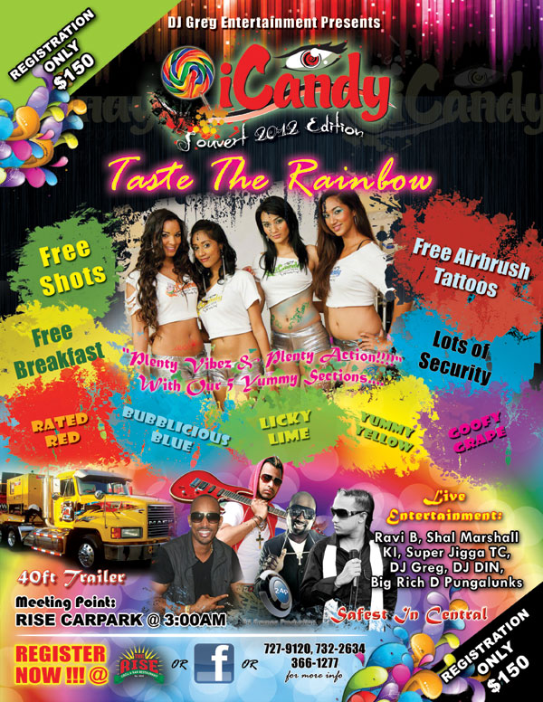 I Candy Jouvert 2012 Edition (Chaguanas)