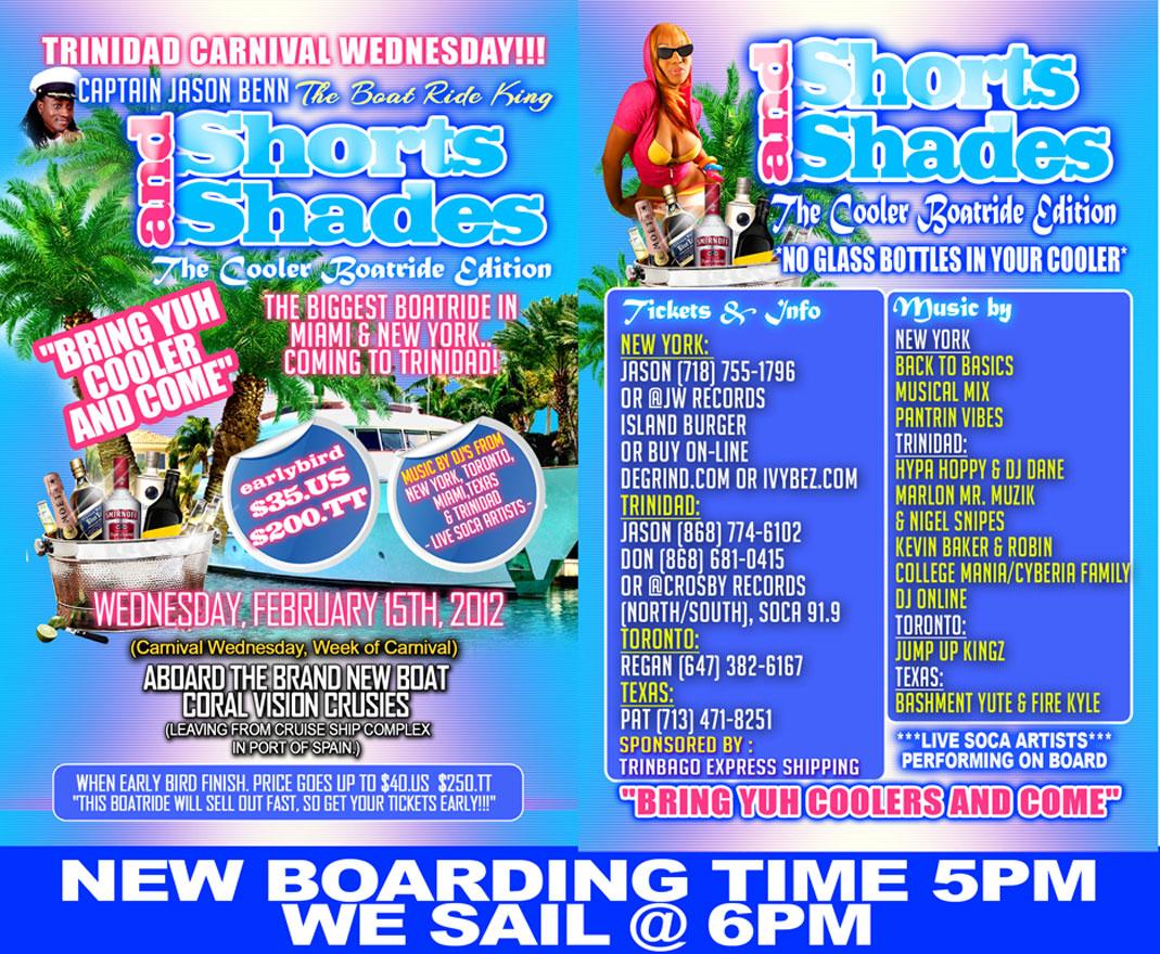 Shorts & Shades Boatride By Captain Jason Benn
