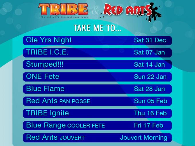 TRIBE and Red Ants 2012 Events