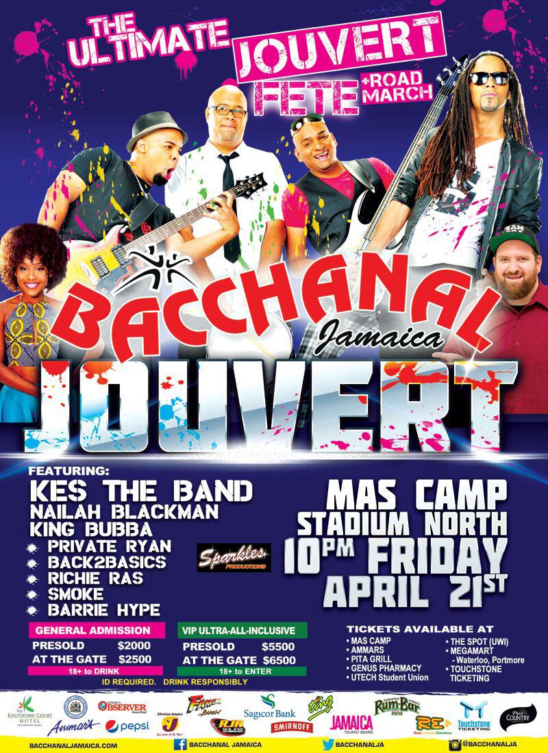 Bacchanal Jamaica - Bacchanal Jouvert