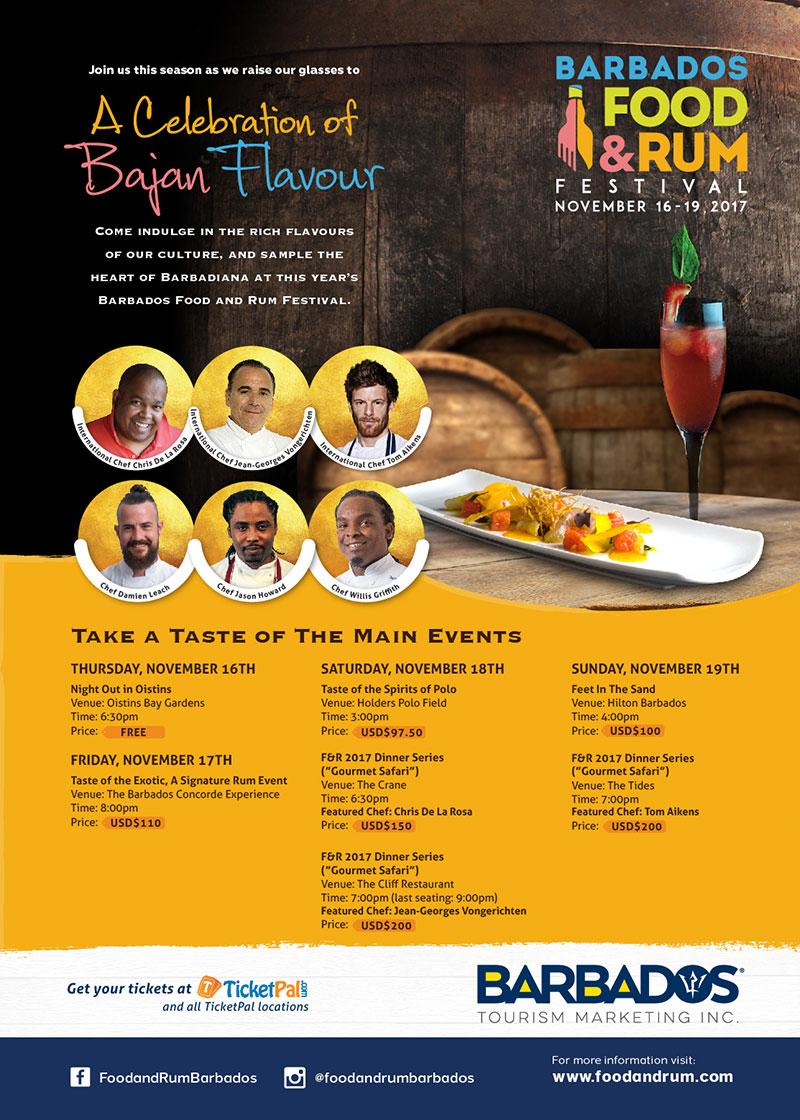 Barbados Food & Rum Festival 2017