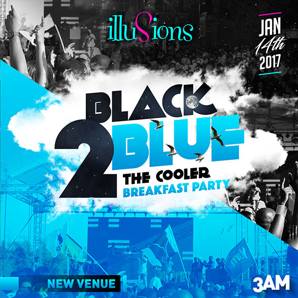 Black 2 Blue- The Cooler Breakfast Party