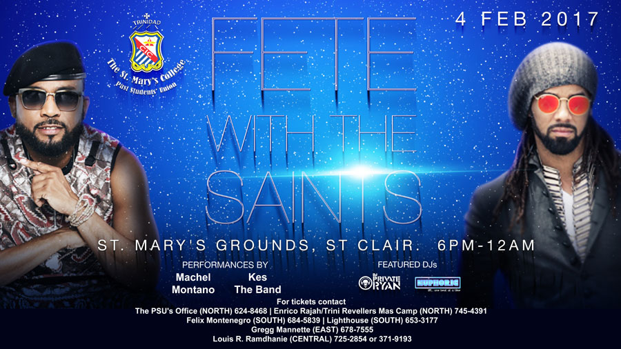 Fete with the Saints All Inclusive
