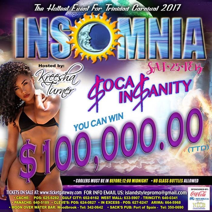 Insomnia 2017 - Soca Insanity