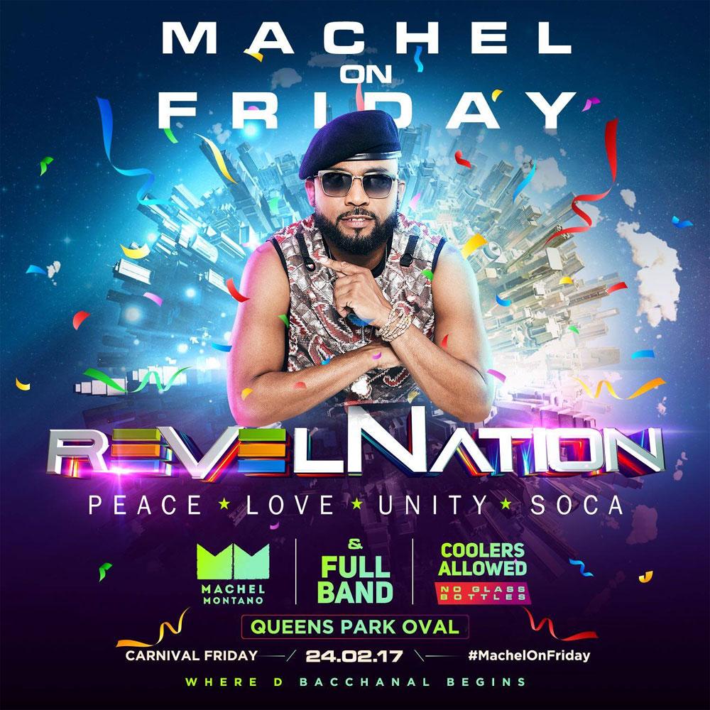 RevelNation: Machel on Friday!