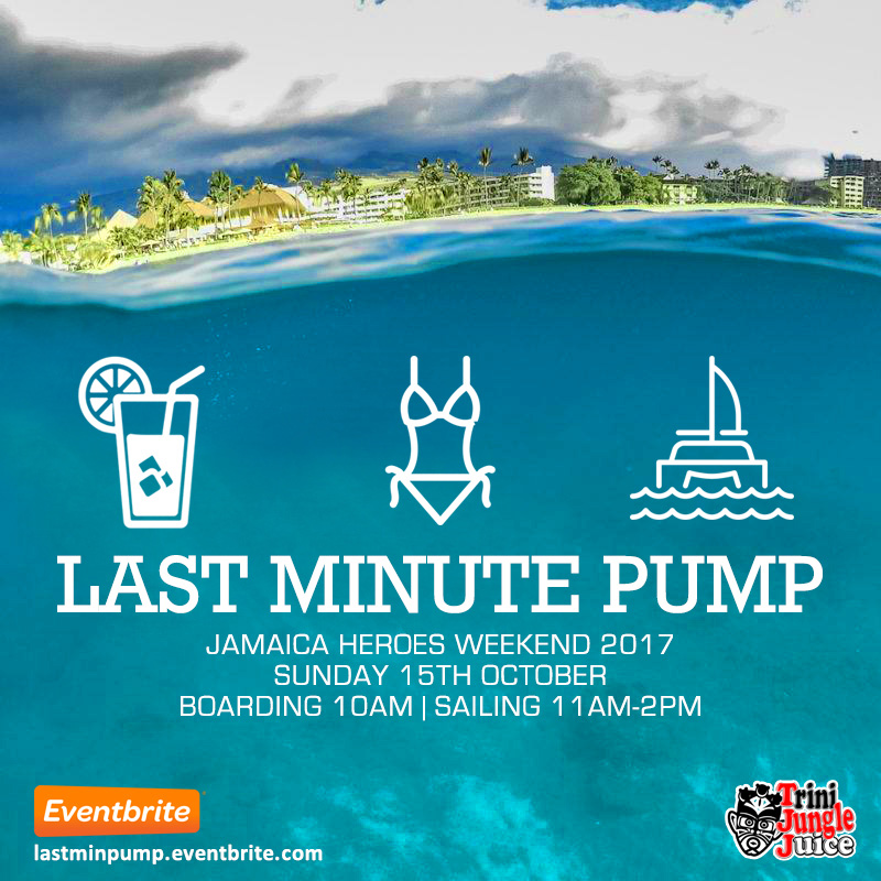 Trini Jungle Juice: Last Minute PUMP Cruise 2017