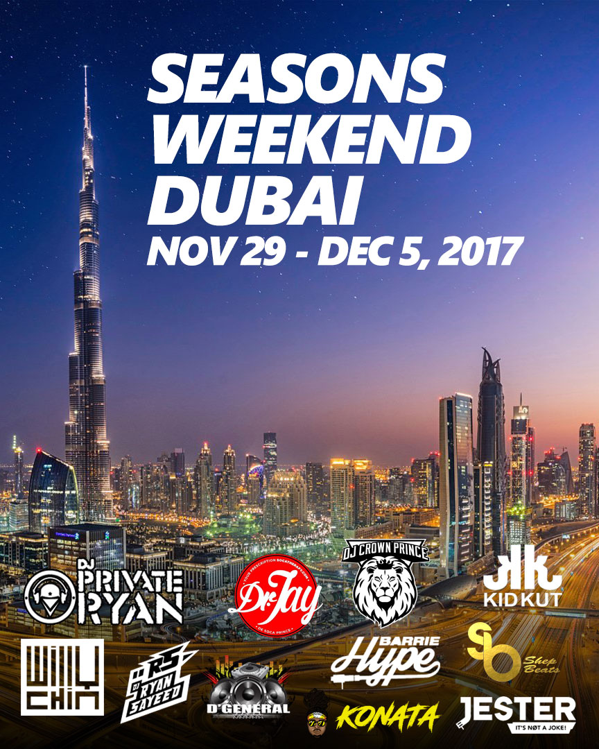 Seasons Weekend Dubai 2017