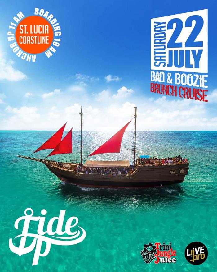 TIDE UP: Bad & Boozie Brunch Cruise