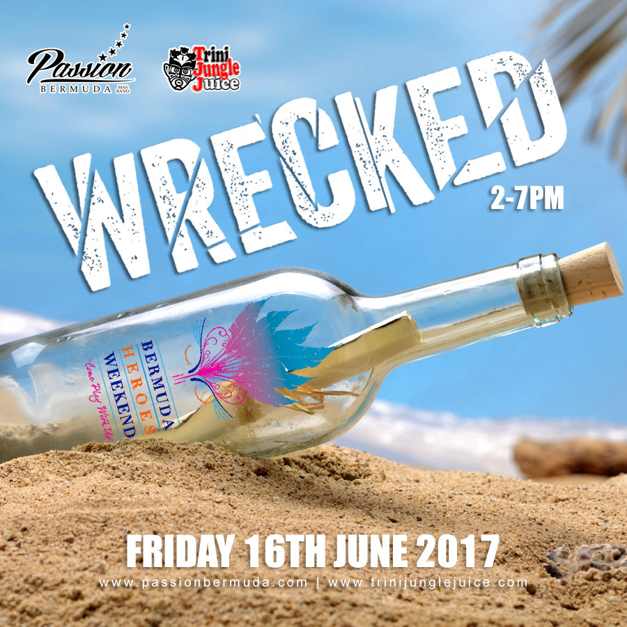 WRECKED Beach Party