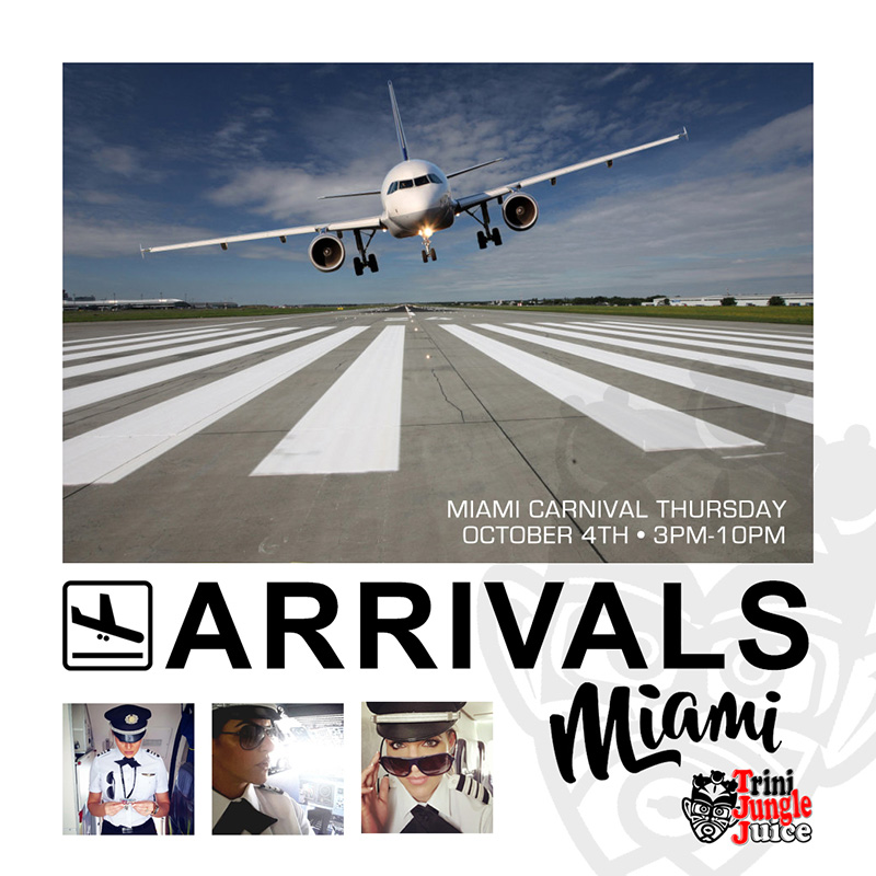 Trini Jungle Juice: ARRIVALS Miami 2018