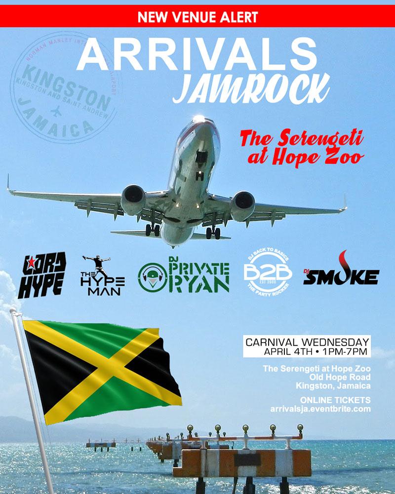 Trini Jungle Juice: ARRIVALS Jamaica