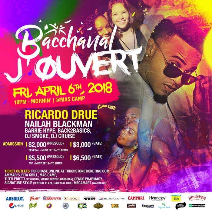 Bacchanal Jamaica - Bacchanal J