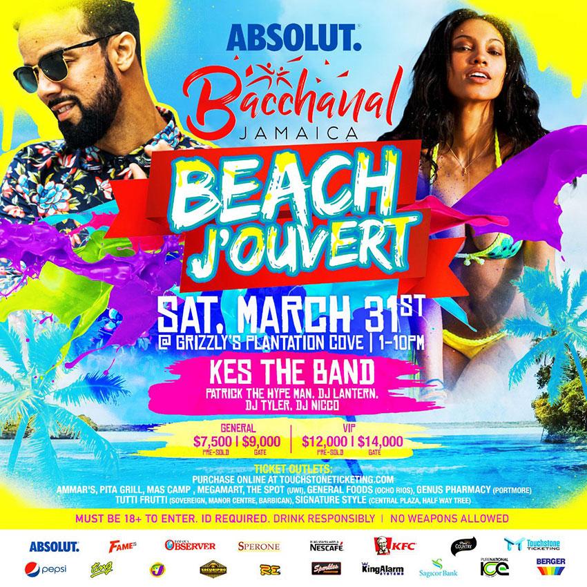 Bacchanal Jamaica - Beach Jouvert