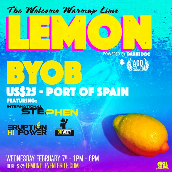 Lemon - The Welcome Warm Up Lime