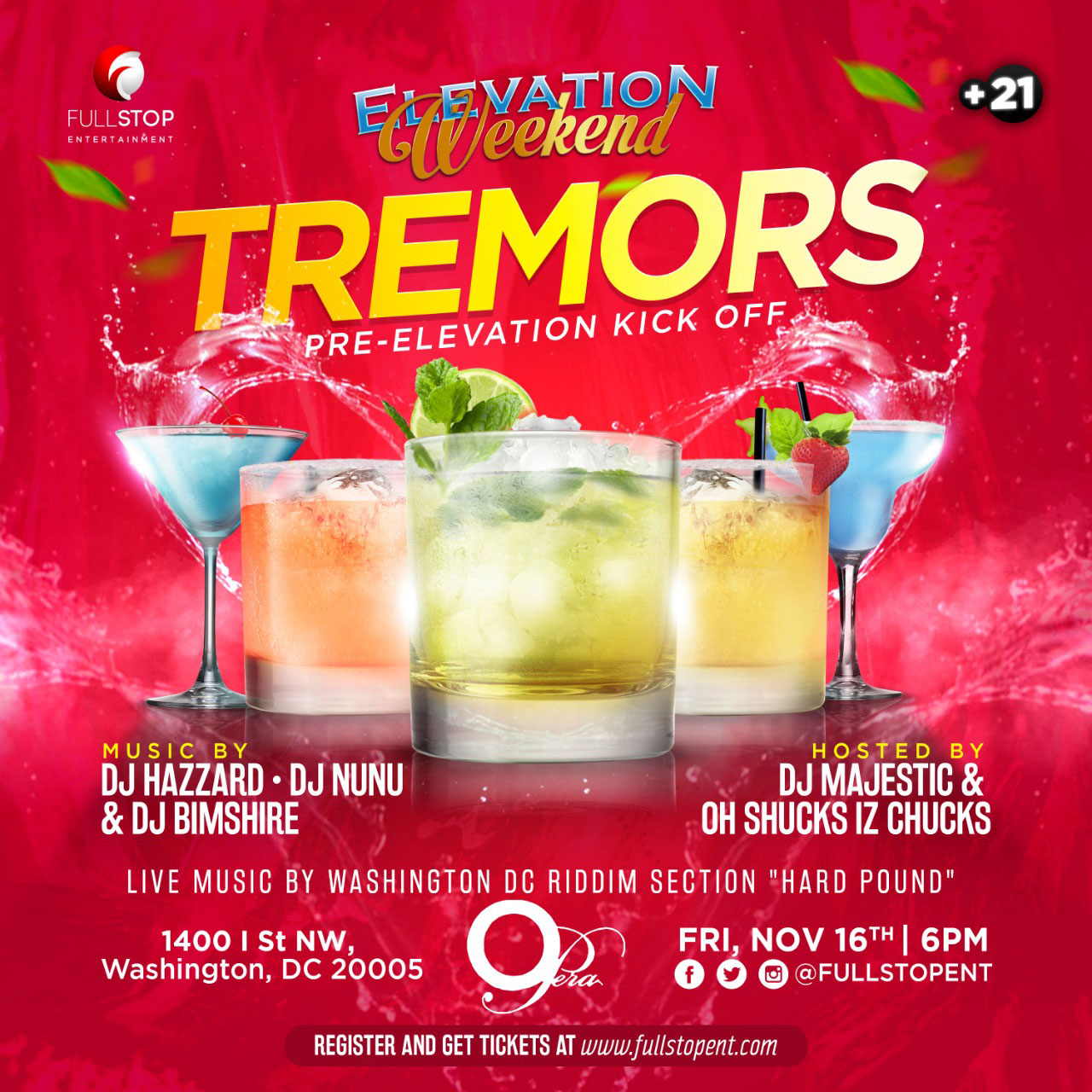 Elevation Weekend 2018: Tremors