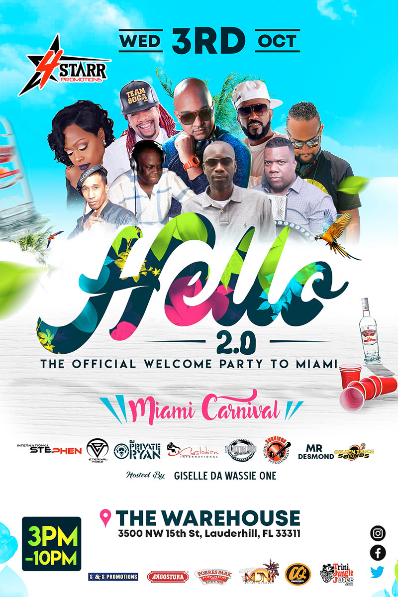 Hello 2.0 The Miami Carnival Edition