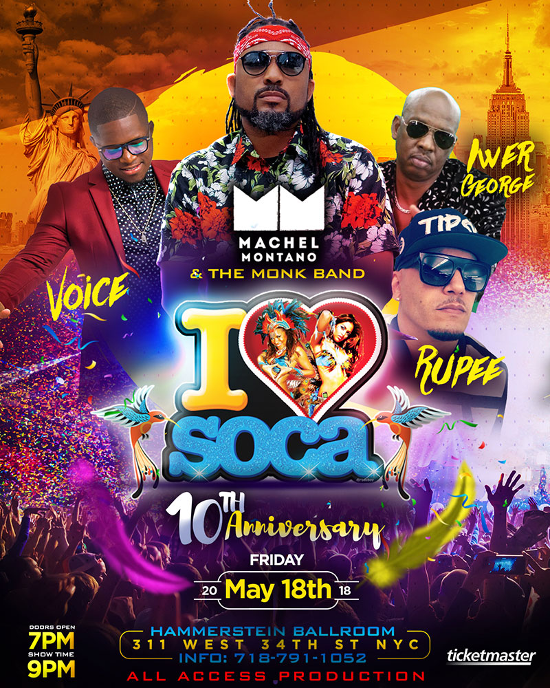 I Love Soca New York
