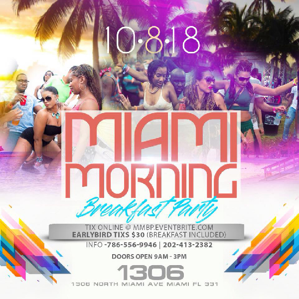 Miami Morning Breakfast Party