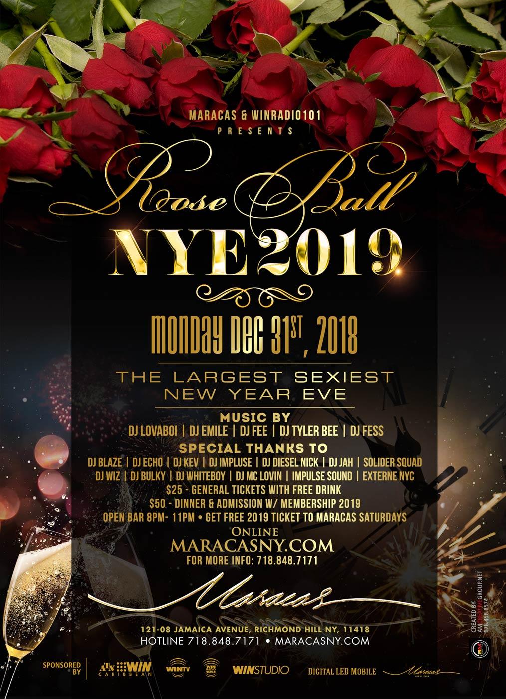 Rose Ball NYE 2019