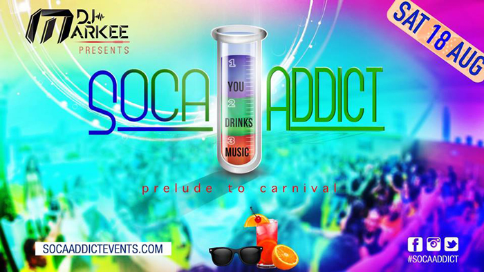 Soca Addict - The Caribbean Drinks Inclusive