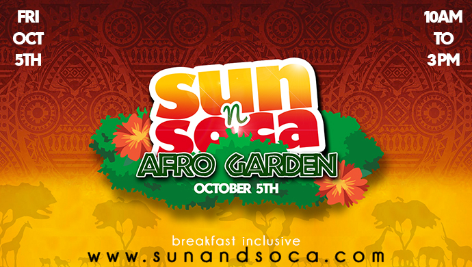 Sun N Soca - Breakfast Inclusive Fete