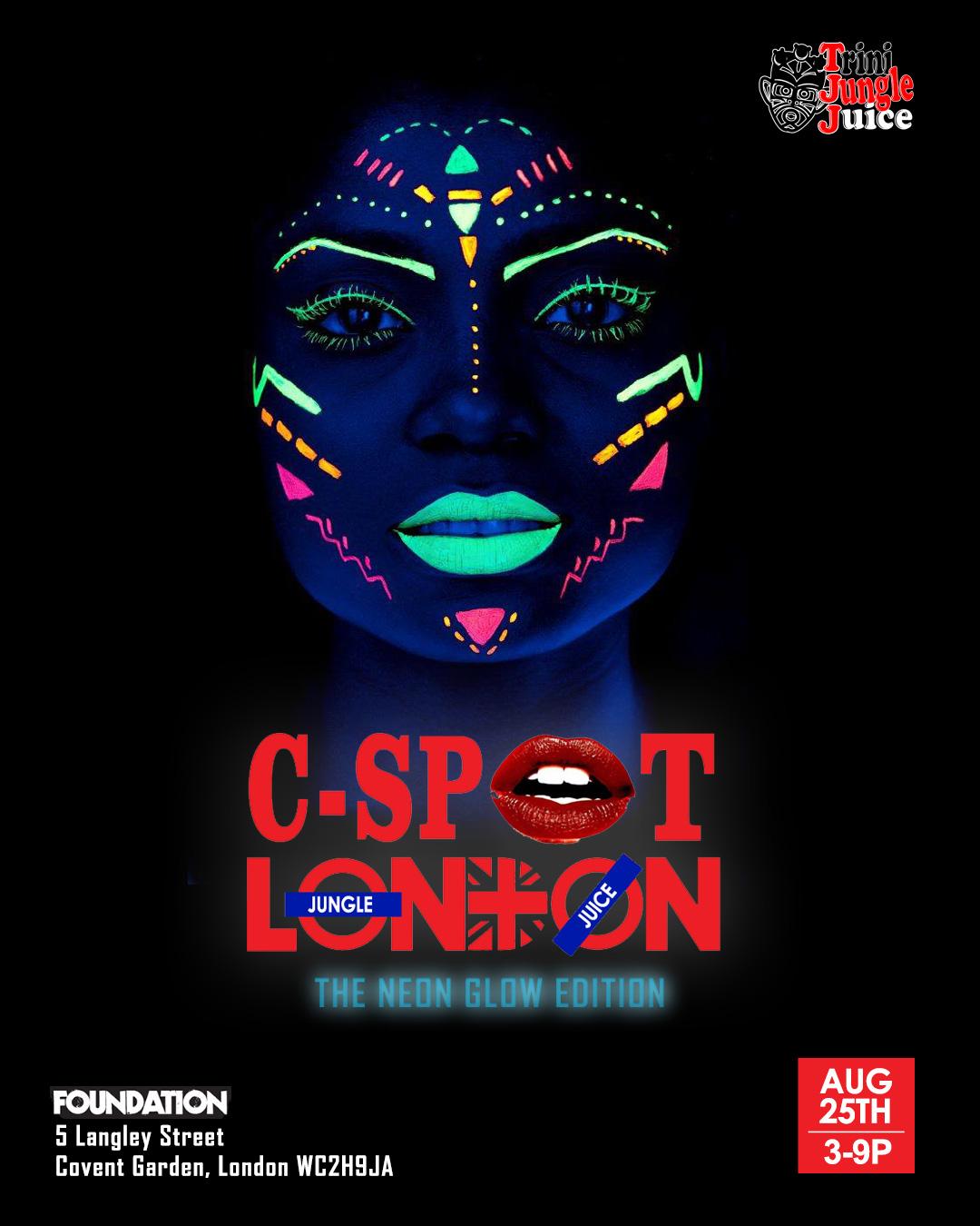 Trini Jungle Juice: C-SPOT 2018 - The Neon Glow Edition