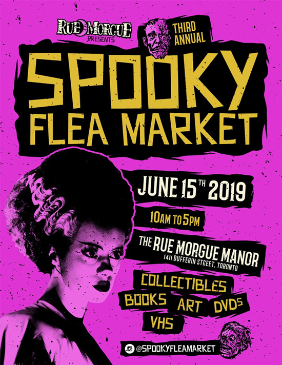 3rd Annual Spooky Flea Market