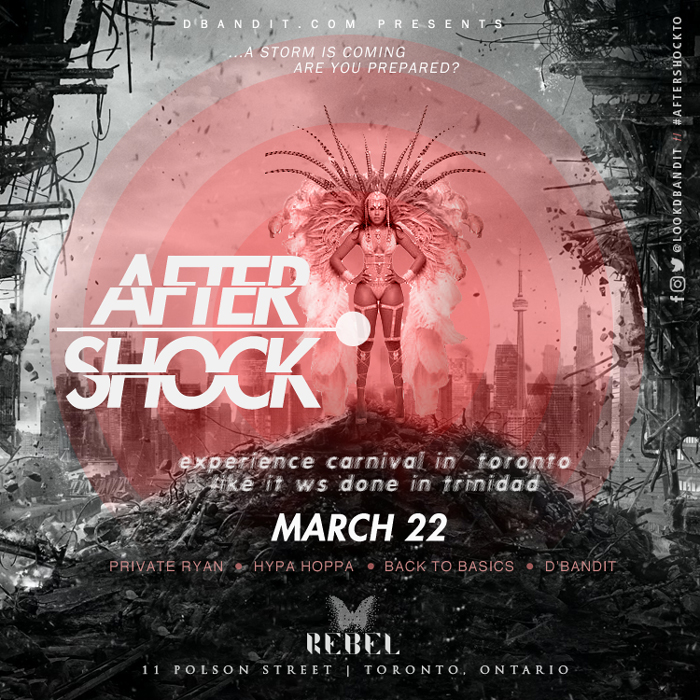 Aftershock feat Private Ryan, Back to Basics, Hypa Hoppa and D