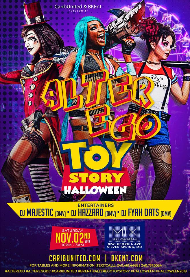 Alter Ego :: Toy Story Halloween