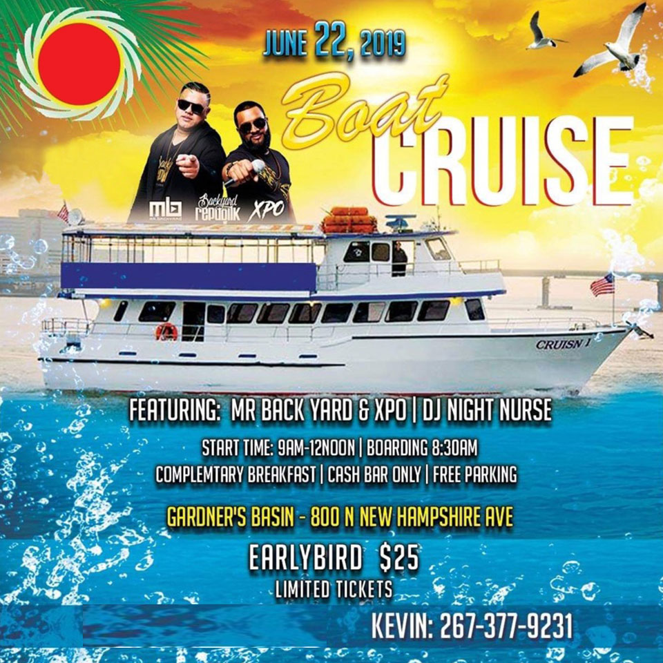 Atlantic City Carnival 2019 - Boat Party