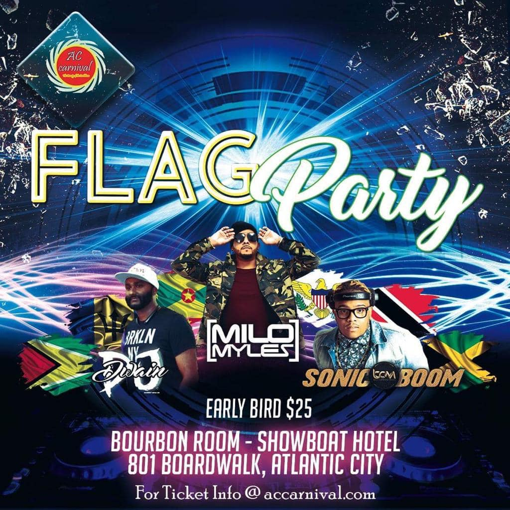 Atlantic City Carnival 2019 - Flag Party