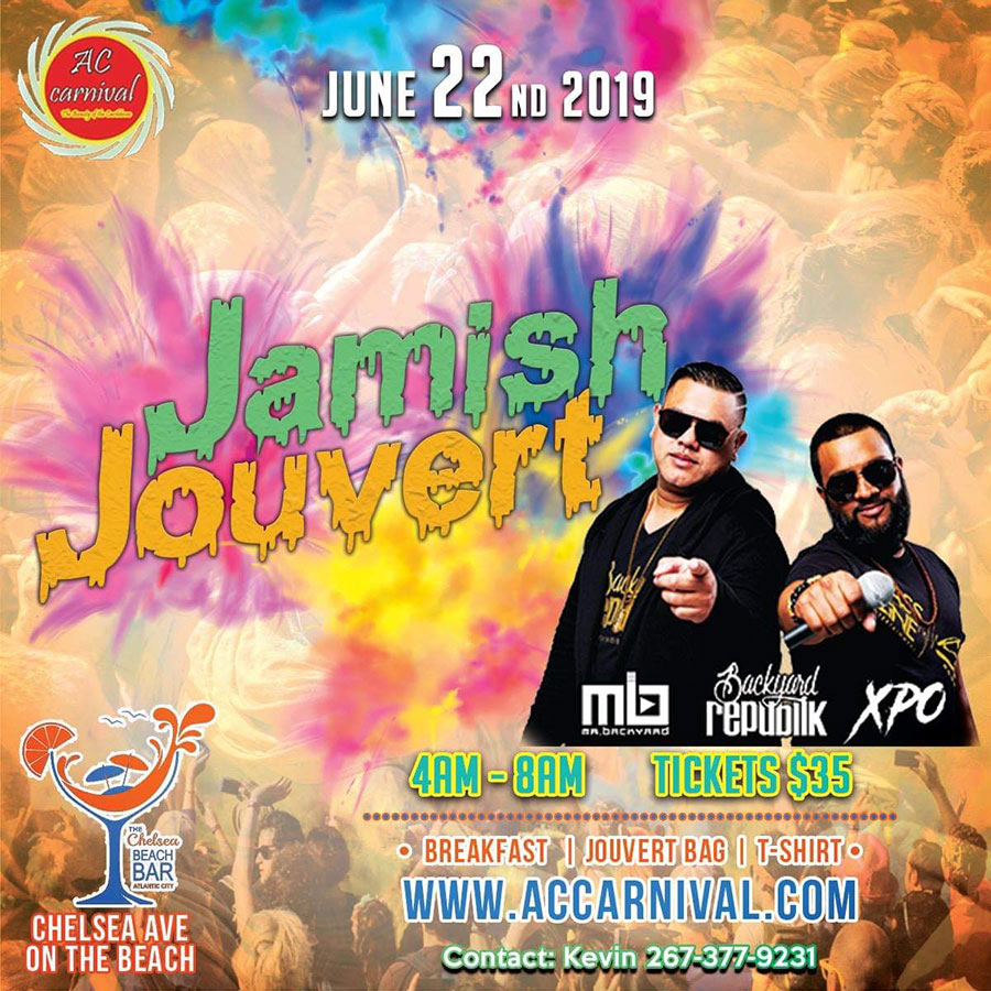 Atlantic City Carnival 2019 - Jamish Jouvert