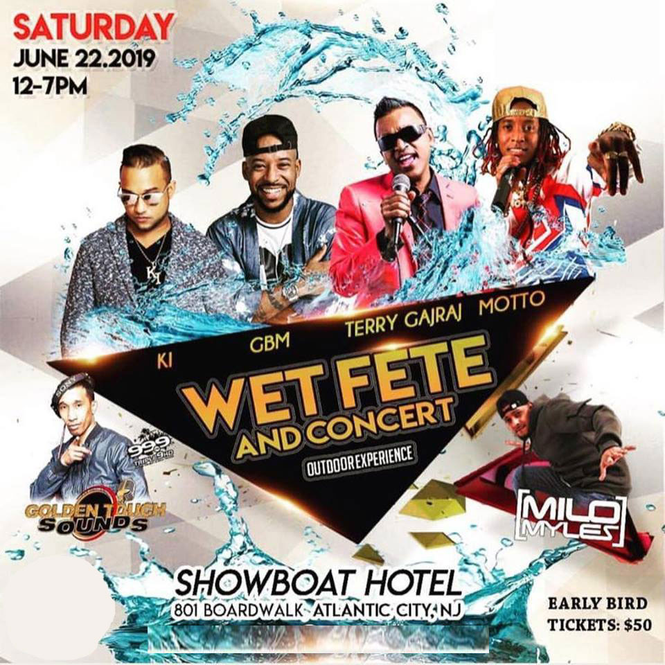 Atlantic City Carnival 2019 - Wet Fete