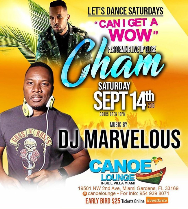 Baby Cham Performing Live