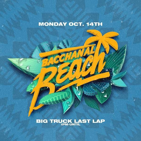 Bacchanal Beach, last lap