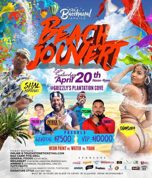 Bacchanal Jamaica - Beach J