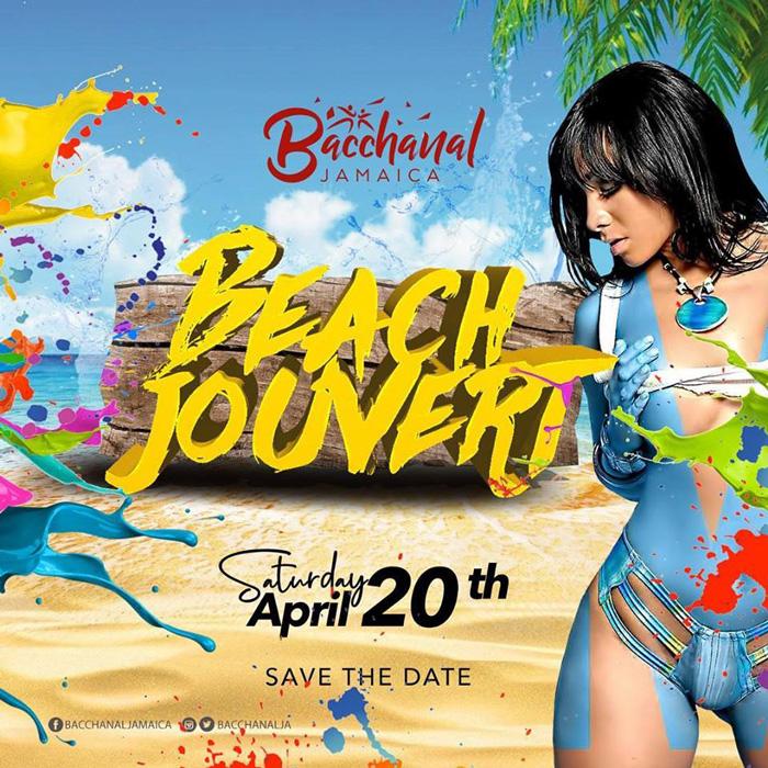 Bacchanal Jamaica Beach Jouvert