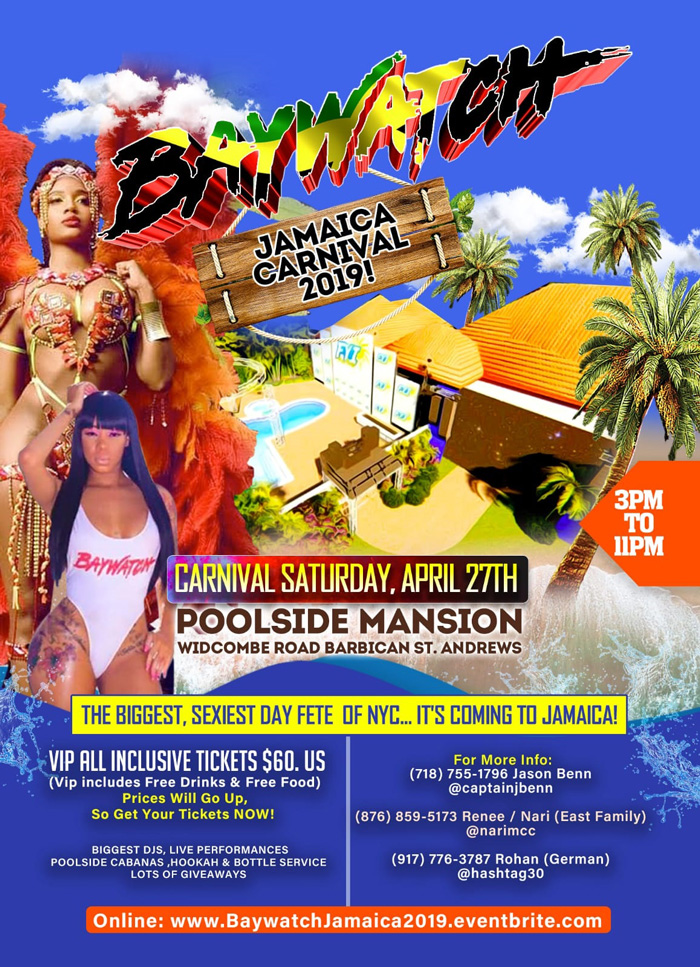 Baywatch Jamaica 2019