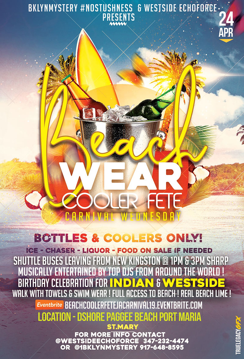 Beach Wear Cooler Fete