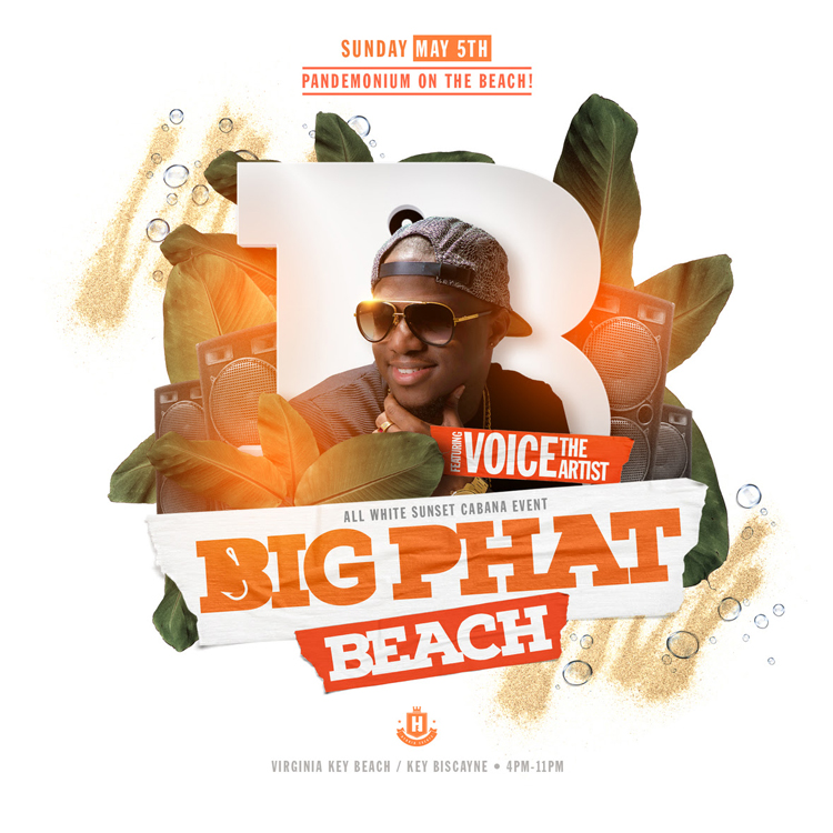 Big Phat Beach - All White Party!