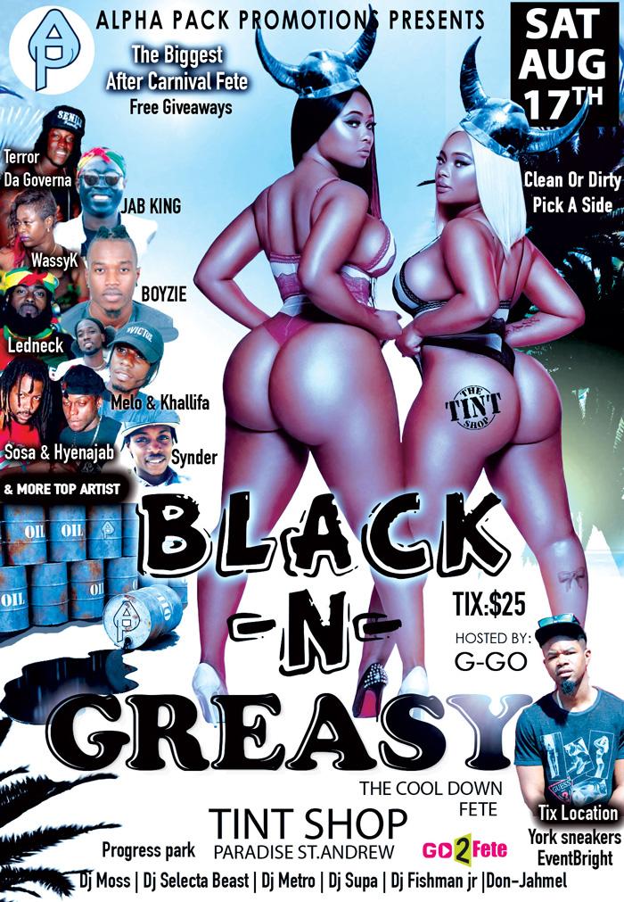 Black N Greasy