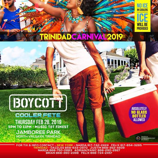 Boycott Cooler Fete