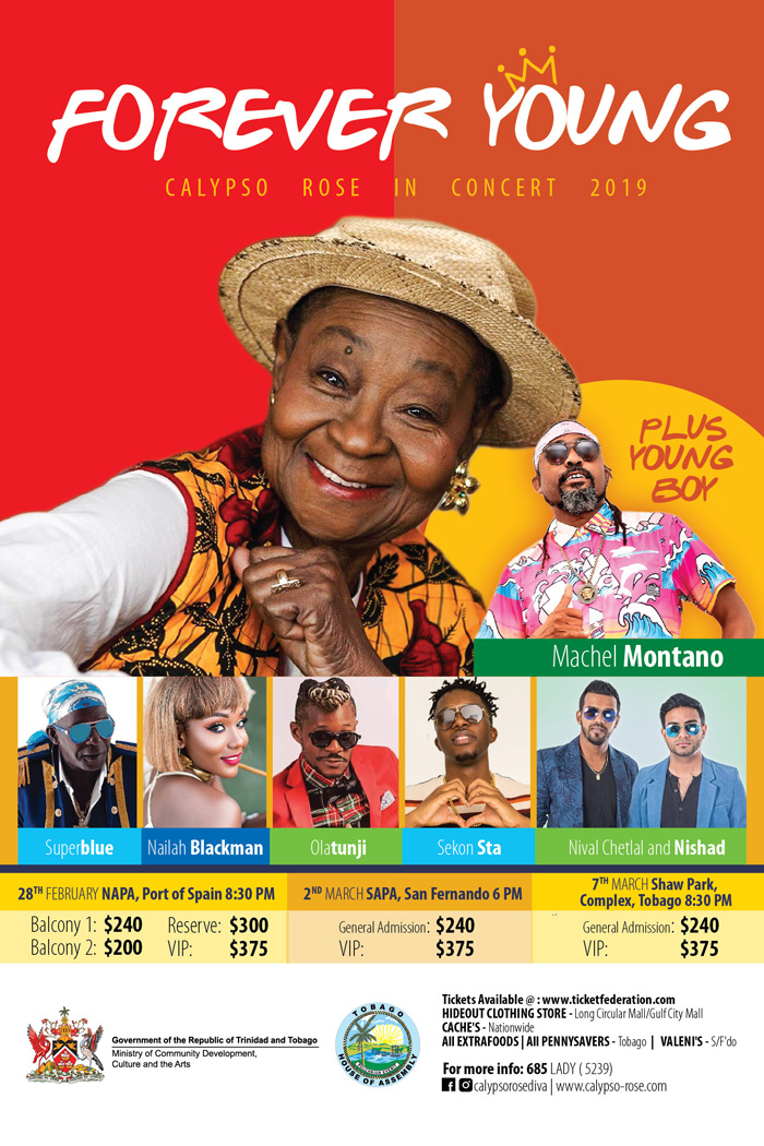 Forever Young | Calypso Rose In Concert 2019