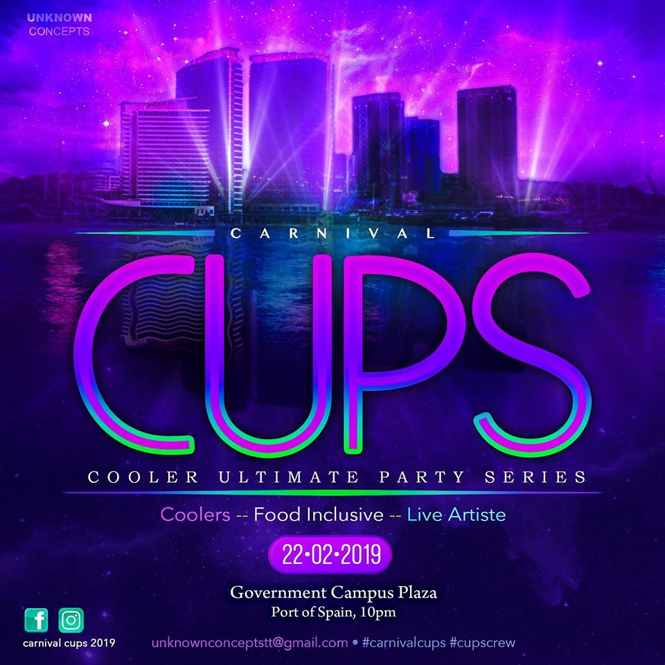 Carnival CUPS Cooler Fete