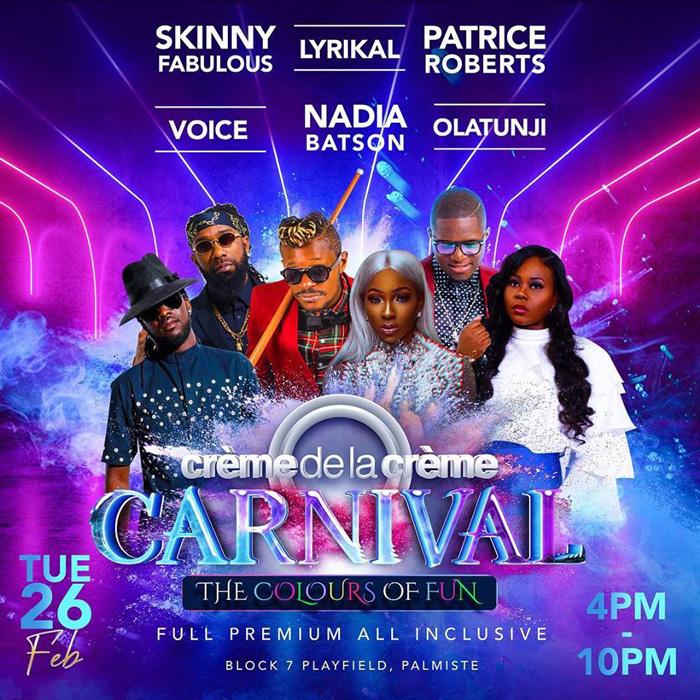 Creme De La Creme Carnival All Inclusive