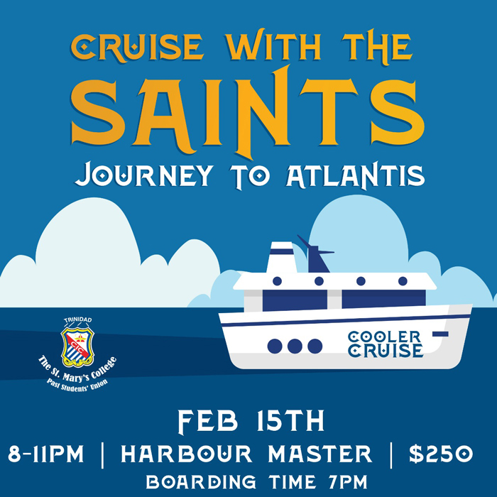 Cruise With The Saints