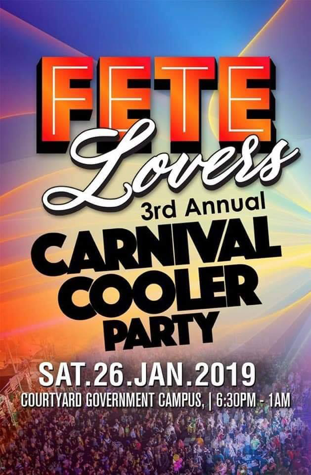 Fete Lovers Carnival Cooler Party